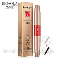 Тушь для ресниц 2в1 BIOAQUA Double Mascara (5+5г)