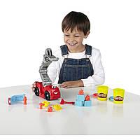 Набор для творчества пластилин Плей До Бумер пожарная машина. Play-Doh Diggin' Rigs Boomer