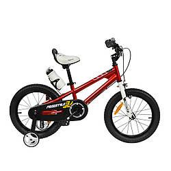 "Велосипед RoyalBaby FREESTYLE 14"", OFFICIAL UA, червоний"