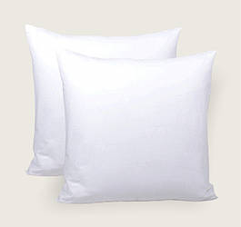 Наволочка  белая  однотонная из бязи голд Чистота  выбор размера