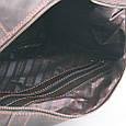 Сумка-саквояж дорожня з натуральної шкіри крейзі хорс ручної роботи, фото 10