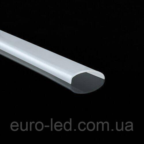 Рассеиватель матовый для гибкого (арочного) LED профиля П-5