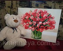 Картина по номерам 40x50 Жгучие тюльпаны (КНО3058)