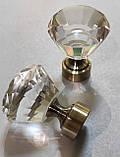Карниз для штор металлический СПЕКТРАЛИЯ однорядный 25мм 1.6м Античное золото, фото 2