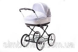 Москітна сітка для коляски Qvatro Moskquitoff03 універсальна біла