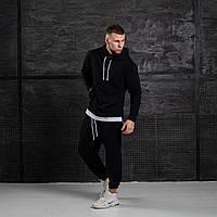 Мужской спортивный костюм оверсайз черный худи штаны Asos oversize 2021 Размеры: S, M, L, XL