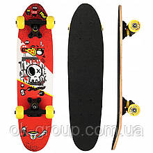 Скейтборд круизер SportVida Abstract Red SV-RD0003