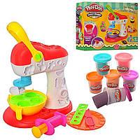 Фабрика морозива та солодощів,набір для творчості пластилін Play-doh,тісто для ліплення
