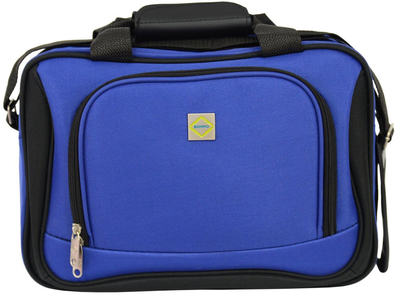 Дорожна сумка Bonro Best сіня (10080402)