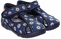 Тапочки для девочек renbut с кожаными стельками 25- 16 см, фото 1