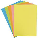 Папір кольоровий неоновий (10арк/5кол), A4 Transformers tf21-252, фото 2