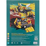 Папір кольоровий неоновий (10арк/5кол), A4 Transformers tf21-252, фото 4