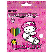 Фломастеры, набор 12 шт. Hello Kitty hk21-047