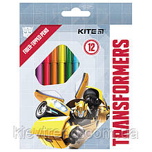 Фломастеры, набор 12 шт. Transformers tf21-047