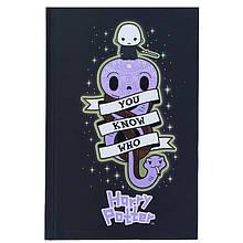 Книга записная твердая обкл. в клетку А6, 80арк. в клеточку Harry Potter-2 hp21-199-2