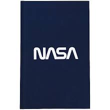Книга записная твердая обкл. в клетку А6, 80арк. в клеточку NASA-2 ns21-199-2