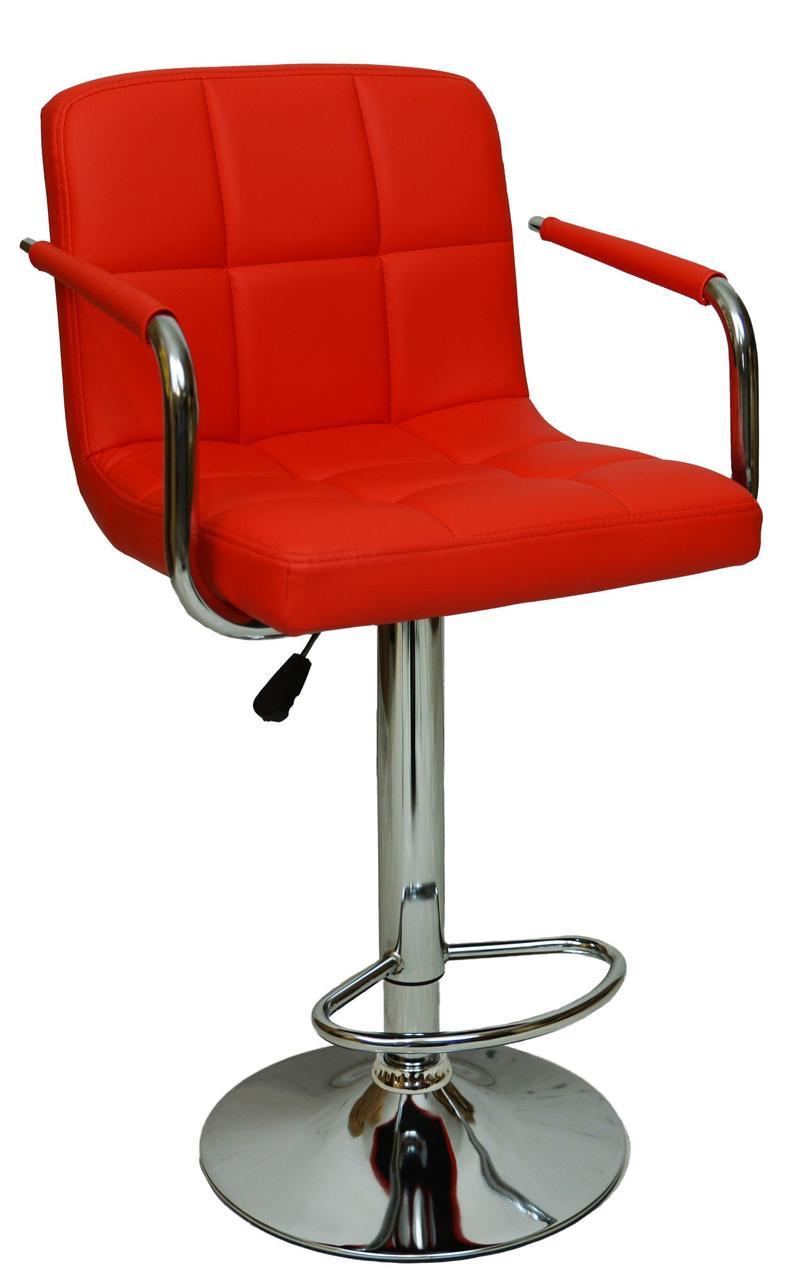 Барний стілець хокер Bonro B-628-1 червоний (40080001)