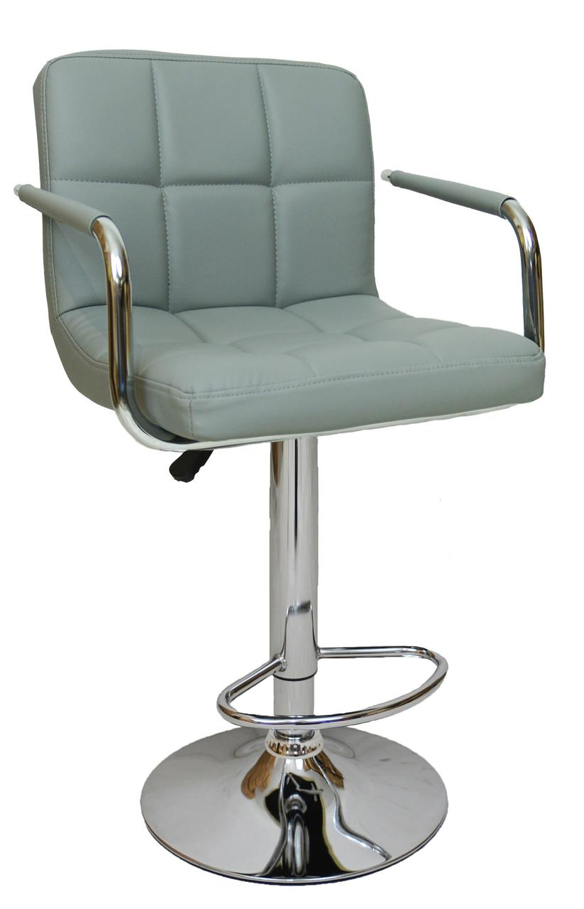 Барний стілець хокер Bonro B-628-1 сірий (40080016)