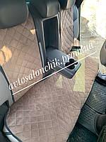 Накидки на сидения из Алькантары авточехлы на сиденья ШИРОКИЕ Экозамш ПРЕМИУМ качества