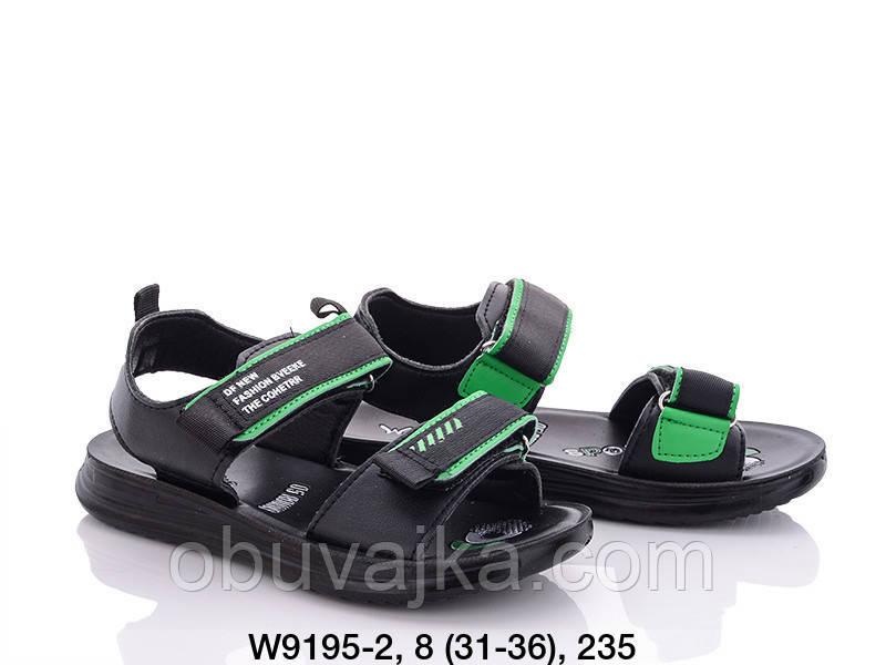 Дитяче літнє взуття 2021 оптом. Дитячі босоніжки бренду W niko для хлопчиків (рр. з 31 по 36)