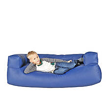 Детский мягкий диван бескаркасный  45/ 140 / 60 см.