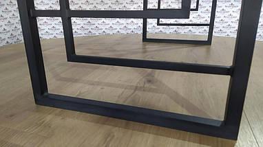 Стеллажи в стиле лофт Квадро Стол робочий Металл-Дизайн / Metall Design, фото 2