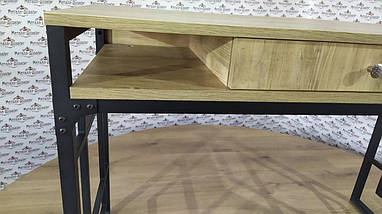 Стеллажи в стиле лофт Квадро Стол робочий Металл-Дизайн / Metall Design, фото 3