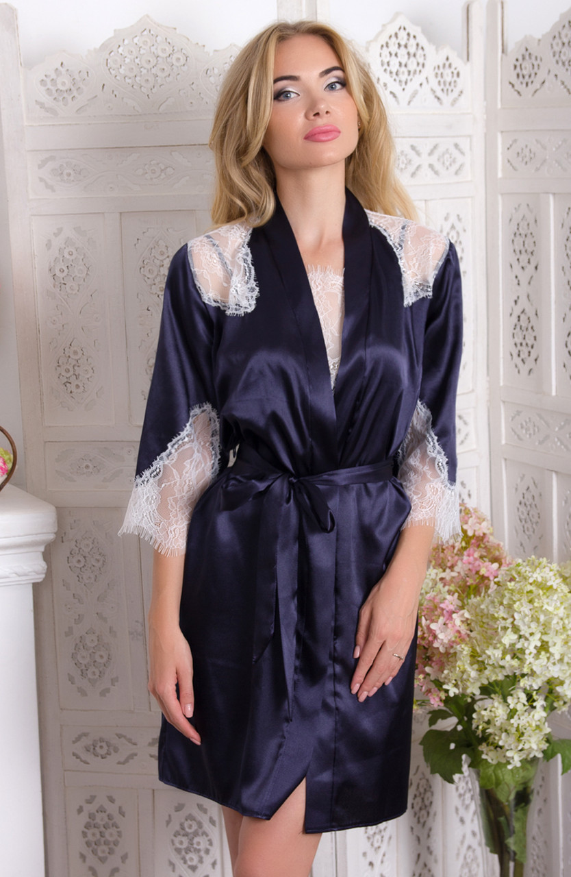АРЛІН халат Fleur Lingerie (5683) короткий