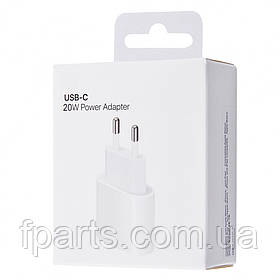 Сетевое зарядное устройство для Apple 20W USB-C Power Adapter White (MHJE3) Original IC
