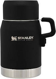 Термос для еды STANLEY MASTER UNBREAKABLE FOOD JAR 17 OZ / 0.5 литра черный Стенли Стэнли Стенлі Мастер