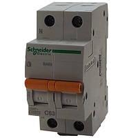 Автомат 2П 63A C Schneider Electric Домовой 11219