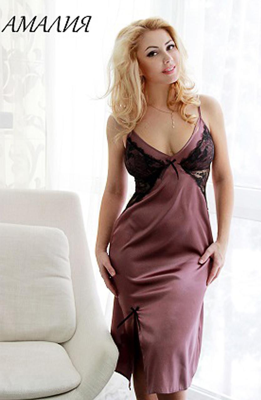 АМАЛІЯ сорочка, піжама Fleur Lingerie (5403) середній