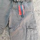 Джинсы мужские ITENO (Tophero) светлые песочный оригинал р.32 прямые Карго весна/осень (есть другие цвета), фото 8