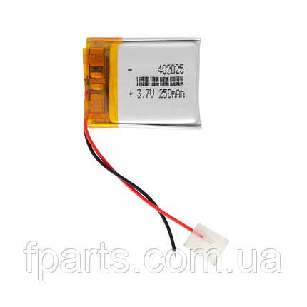 Акумулятор універсальний 0.4*20*25мм (300 mAh), фото 2