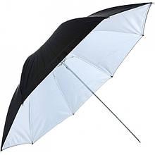 """Зонт Falcon Black/Shining White 48"""" (122см) (UR-48WB1, UR-48WB, URN-48TWB)"""