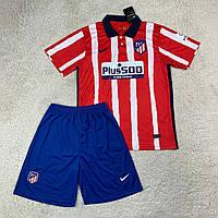 Футбольная форма Атлетико Мадрид/ Atletico madrid football uniform 2020-2021