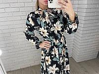Жіноче легке плаття 701 в кольорах, фото 1
