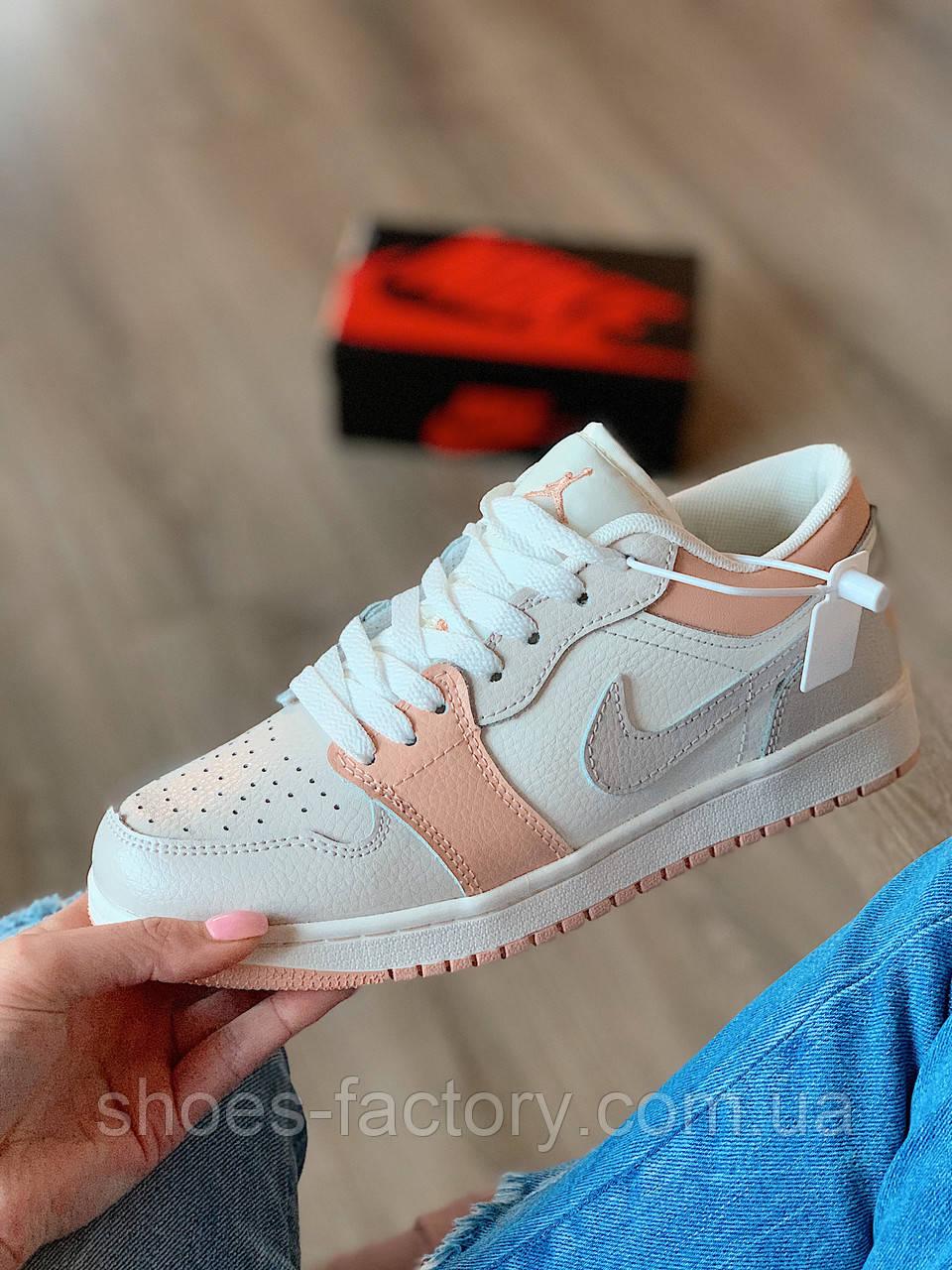 Nike Air Jordan 1 Low Кроссовки женские кожаные