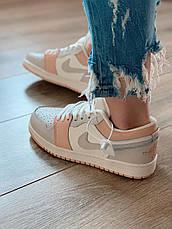 Nike Air Jordan 1 Low Кроссовки женские кожаные, фото 2