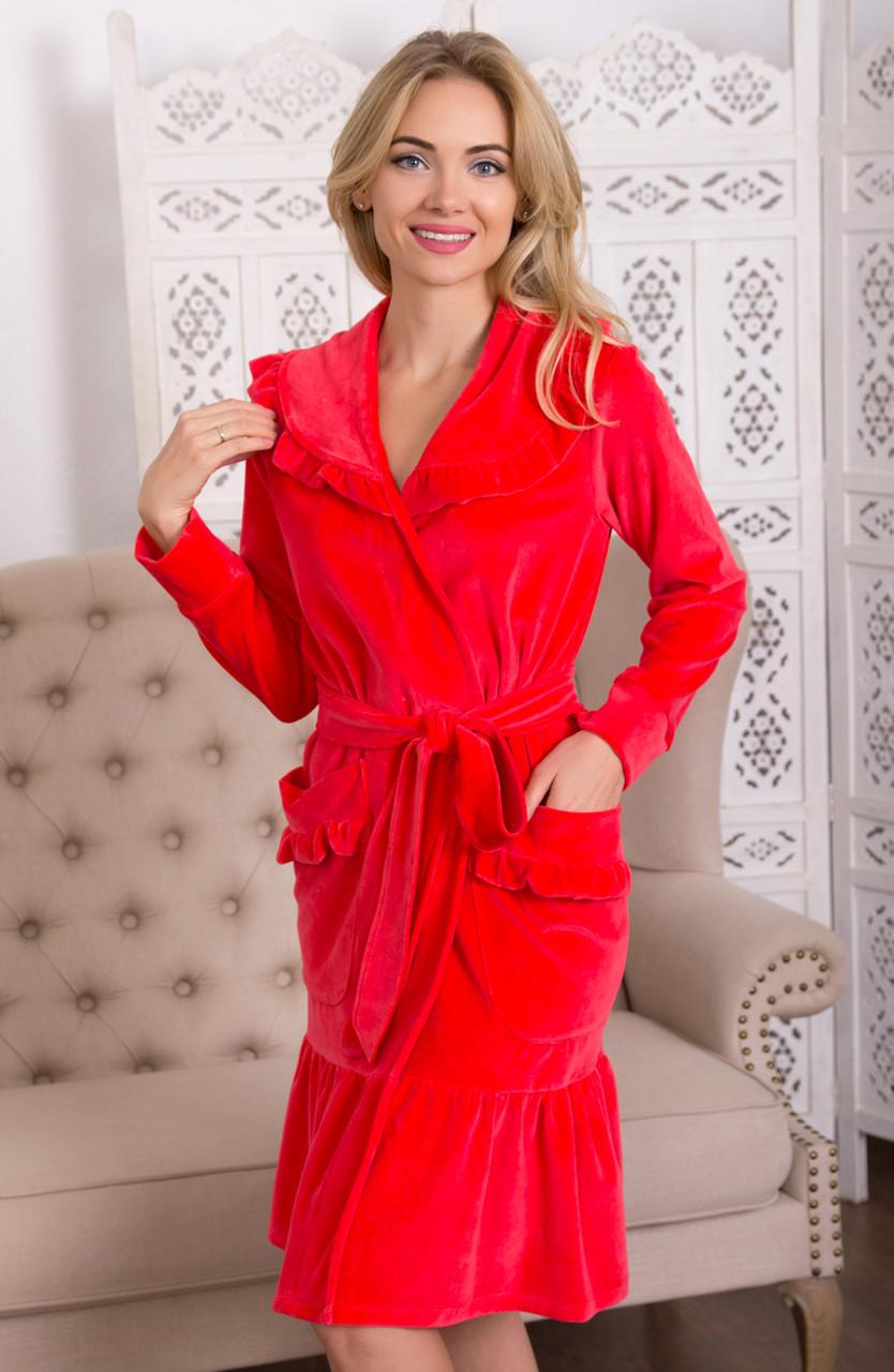 ЕМІЛІЯ халат Fleur Lingerie (5133) середній
