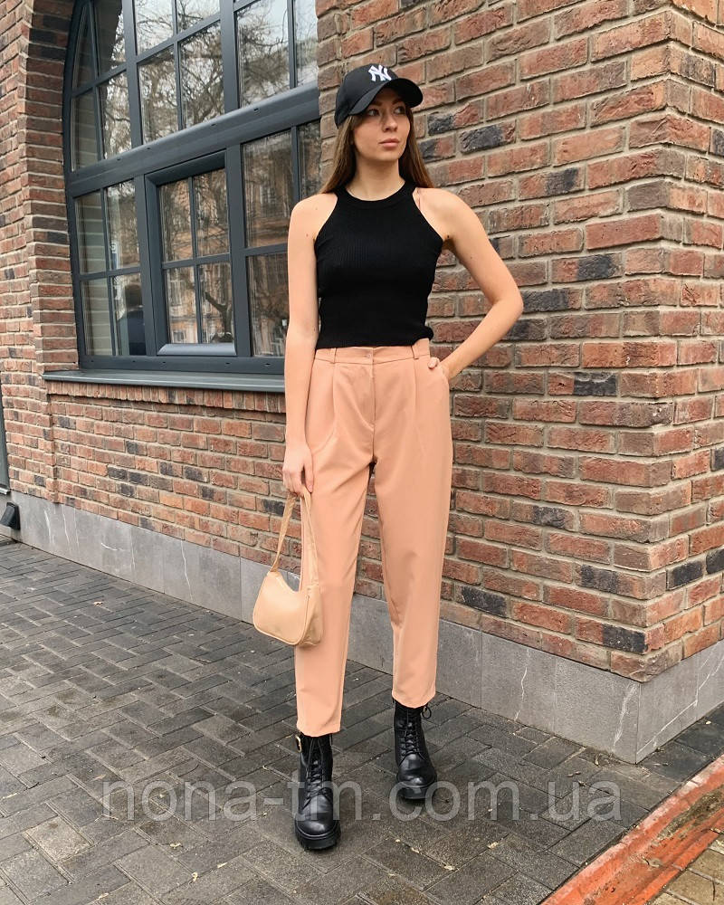Женские брюки молодежные весна-лето