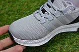 Дитячі кросівки аналог адідас сірі adidas Runfalcon Grey р31-34, фото 3