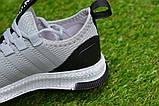 Дитячі кросівки аналог адідас сірі adidas Runfalcon Grey р31-34, фото 8