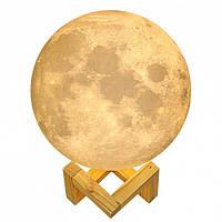 Настольный светильник Magic 3D Moon Light Touch Control 15 см Moonlamp, фото 1