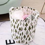 """Кошик для білизни та іграшок """"Зелений ліс"""", фото 5"""