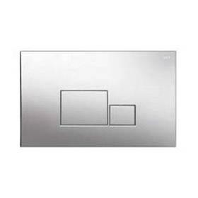 Змивна клавіша для бачка прихованого монтажу NKP квадрат хром (260х167х12 мм)
