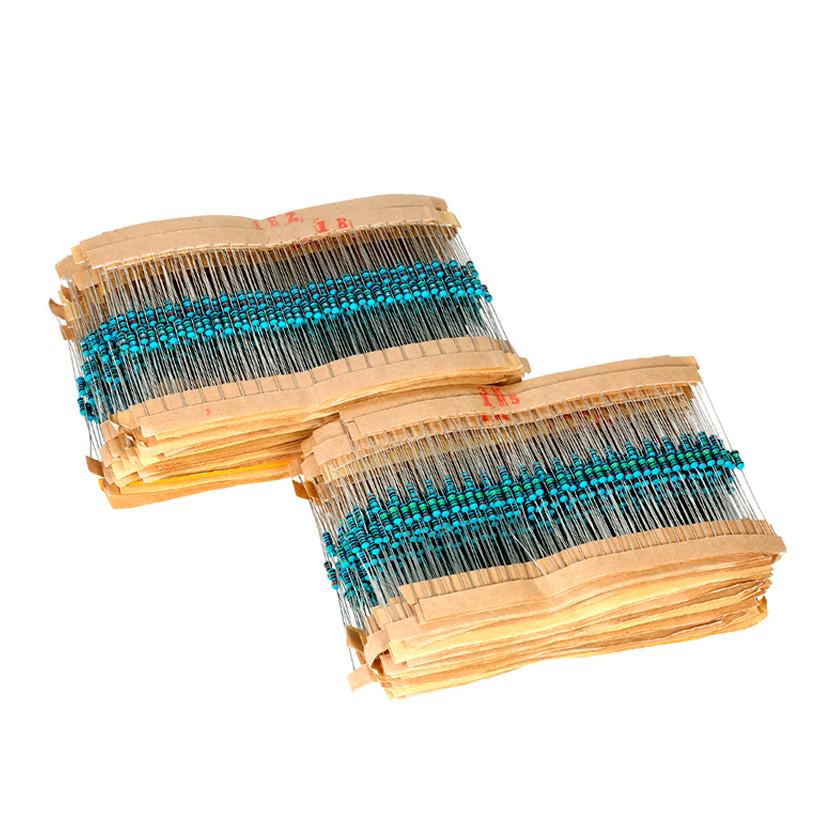Набор резисторов 2600 шт. 0,25 Вт. 1% (Комплект сопротивления 1R - 3МOm)