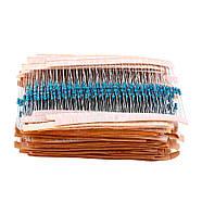 Набор резисторов 2600 шт. 0,25 Вт. 1% (Комплект сопротивления 1R - 3МOm), фото 3