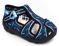 Текстильні мокасини для хлопчика Viggami р. 31 (19,5 см), фото 1