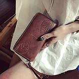 Модный женский кошелек клатч, фото 7